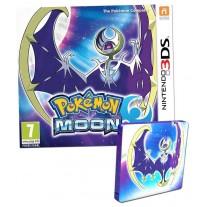 Pokemon Moon Nintendo 3DS Game Fan Edition with Steelbook