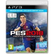PES 2018 Pro Evolution Soccer Premium Edition PES18 PS3 Game