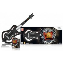 Guitar Hero 6 Warriors of Rock Guitar Bundle Nintendo Wii
