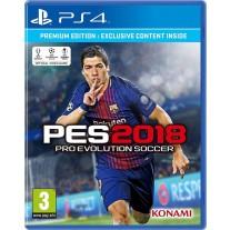PES 2018 Pro Evolution Soccer Premium Edition PES18 PS4 Game