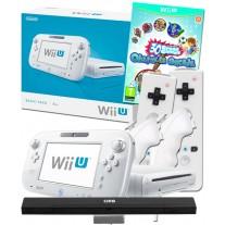 Nintendo Wii U White Console + 30 Greats + 2 Remote + 2 Nunchuk Controllers Bundle