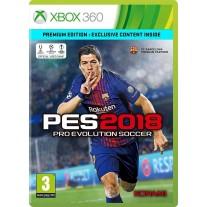 PES 2018 Pro Evolution Soccer Premium Edition PES18 Xbox 360 Game