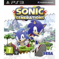 Sonic Generations Sony Playstation PS3