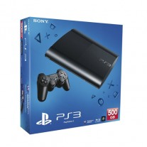 PS3 500GB UK Black Console + Dreamworks Megamind Ultimate Showdown