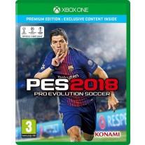 PES 2018 Pro Evolution Soccer Premium Edition PES18 Xbox One Game
