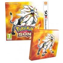 Pokemon Sun Nintendo 3DS Game Fan Edition with Steelbook