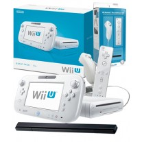 Wii U White Console with Remote Plus Additional Set Bundle