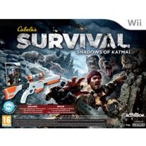 Cabelas Survival Shadows of Katmai Gun Bundle Nintendo Wii