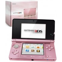 Nintendo 3DS Handheld Console - Coral Pink
