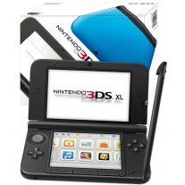 Nintendo Handheld Console 3DS XL Black and Blue