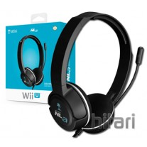 Turtle Beach NLa Licensed Nintendo Wii U and 3DS Headset - Black