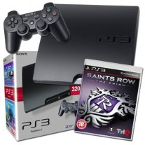 Sony PlayStation3 PS3 320GB Console with Saints Row 3rd