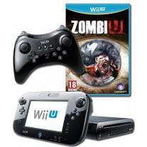 Nintendo Wii U Console Zombi U Pack Black