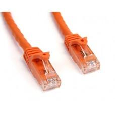 StarTech 25 ft Orange Snagless Cat6 UTP Patch Cable - ETL Verified