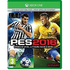 Pro Evolution Soccer 2016 Day One Edition Xbox One - Dutch Case - EFIGS In Game