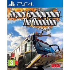 Airport Firedepartment The Simulation PS4 Game