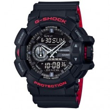 Casio G-Shock Classic Mens Quartz Analogue Watch - Black (GA400HR-1AER)