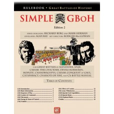 Simple Great Battles of History - 2nd Edition Board Game