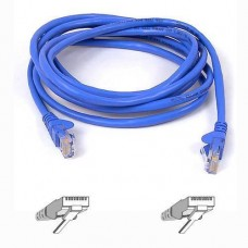 Belkin Cat5e Snagless UTP Patch Cable (Blue) 2m