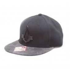 Assassins Creed Syndicate Brotherhood Crest Snapback Baseball Cap - Black/Grey