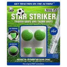 iMP Star Striker Trigger and Thumb Grips Green PS4