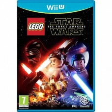 LEGO Star Wars The Force Awakens Nintendo Wii U Game with Jabbas Palace Character Pack