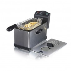 Swan Stainless Steel Fryer with Viewing Window 3 Litre (SD6040N)
