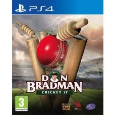 Don Bradman Cricket 17 Video Game PS4