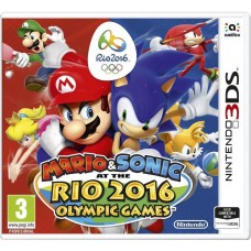 Mario and Sonic at the Rio 2016 Olympics Nintendo 3DS Video Game