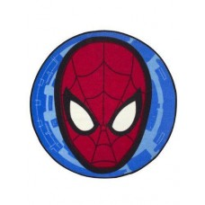 Character World Disney Ultimate Spider-Man City Shaped Rug - Multi-Color