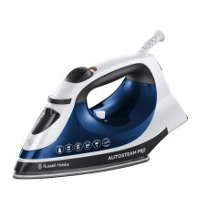Russell Hobbs Auto Steam Pro Iron 2400 W - White/Blue (Model No 20270)
