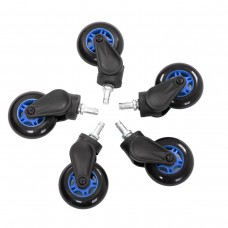 Ak Racing Rollerblade Casters 5 pieces - Blue (AK-ROLLCAST-BL)