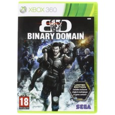 Binary Domain Limited Edition Game Xbox 360 Game