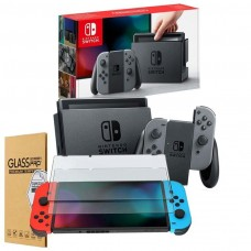 Nintendo Switch Game Console Grey with FREE Anti Scratch Screen Protector Bundle