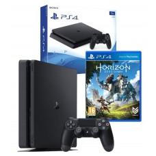 PS4 1TB Console Black + Horizon Zero Dawn Game PS4