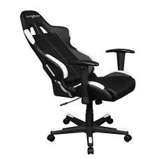 DXRacer Formula Gaming Chair With Adjustable Arms - Black/White (OH/FD99/NW)