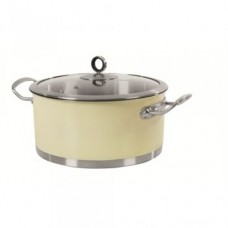 Morphy Richards 46372 Casserole 24cm Cream
