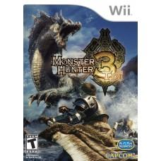 Nintendo Wii monster hunter 3 tri  Game