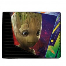 Marvel Comics Guardians of the Galaxy Vol 2 Groot Bi-fold Wallet - Black