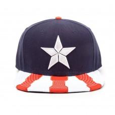 Marvel Comics Captain America: Civil War Main Logo Snapback Baseball Cap