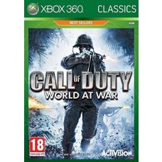 Call of Duty World at War Classic Xbox 360 Game