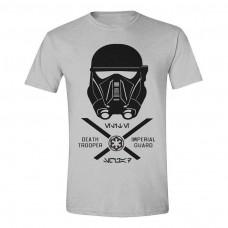 Star Wars Rogue One Imperial Guard T-Shirt Medium Grey Melange (TS011ROG-M)