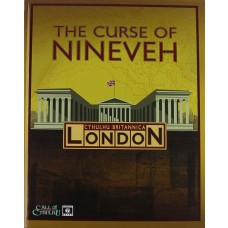 The Curse of Nineveh Call of Cthulhu Hard Cover