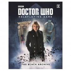 Dr Who RPG Black Archive Paper Back Book
