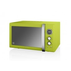 Swan Retro 25L Digital Combi Microwave with Grill - Lime 900w  (SM22080LN)