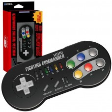 HORI Wireless Mini SNES Fighting Commander Classic Controller - Mini SNES/NES/Wii U