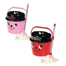 Henry and Hetty Mop and Bucket Bundle - Role Play Kids Casdon Toys