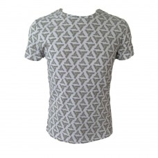 Assassins Creed Adult Male Abstergo Logo All-Over Print T-Shirt XL Size - Grey