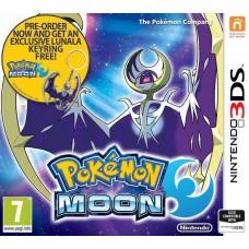Pokemon Moon with FREE Lunala Keyring - Nintendo 3DS