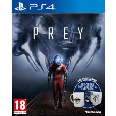 Prey PS4 Video Game with FREE MUG + Cosmonaut Shotgun Pre-Order DLC